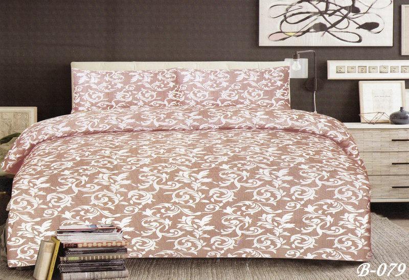 Двуспальный комплект постельного белья  Милена (беж)