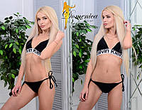 Женский черный купальник с чашка q-t3118152