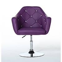 Косметическое кресло HC830 фиолетовое