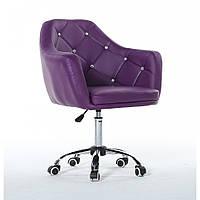 Косметическое кресло HC 830К фиолетовое