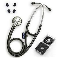 Стетоскоп LD Cardio Dark Red SLDE, кардиологический