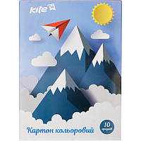 Картон цветной односторонний Kite K17-1257
