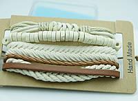 Мужские плетенные браслеты, комплекты браслетов фенечек 159