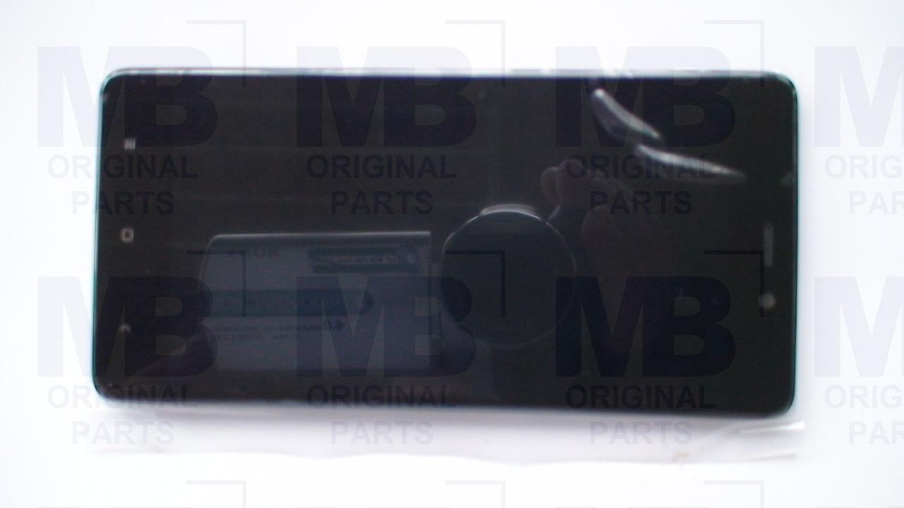 Дисплей с сенсором Xiaomi Redmi 4 Prime Gray, оригинал с рамкой!