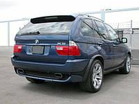 Накладка на задний бампер БМВ Е53 Х5, BMW X5 E53, фото 1