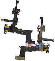 Шлейф iPhone 5S с датчиком освещения, динамика и фронтальной камеры