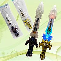 Игрушечный меч со звуковыми и световыми эффектами.