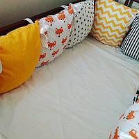 Бортики в кроватку 120*60 на 4 стороны