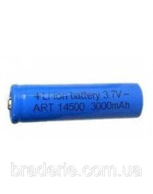 Аккумулятор Li-Ion 14500 3000 mAh