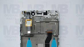 Дисплей с сенсором Xiaomi Redmi 4 Silver/серебристый, оригинал с рамкой!, фото 2