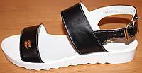 Босоножки женские кожаные черные, кожаные босоножки женские от производителя модель ВЛ1703Ч