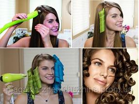 Волшебные бигуди Hair Wavz для волос любой длины!Опт, фото 2