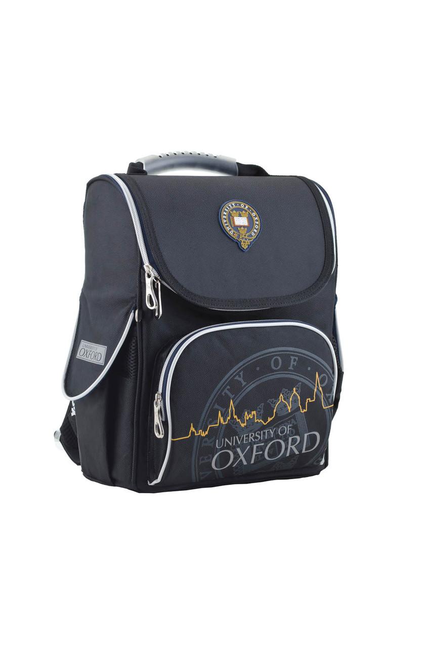 553294 Каркасный  рюкзак H-11 Oxford black 34*26*14