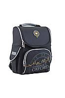 Каркасный школьный рюкзак H-11 Oxford black