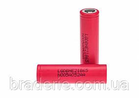 Аккумулятор LG 18650 2500 mAh Li-Ion DBHE21865