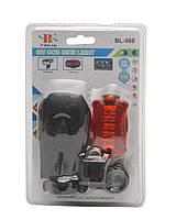 Велосипедный светодиодный набор : передняя фара и задний фонарь