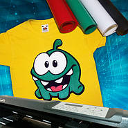 Печать рисунка на футболки. Как мы это делаем.