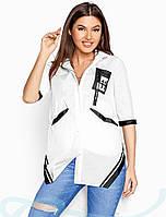 Рубашка женская летняя S M L XL XXL