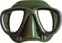 Подводные маски для охоты Mares Tana; зелёные марес тана
