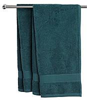 Рушник KARLSTAD 100x150см т.зелений Kr.G