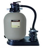 Станция фильтрации Hayward 500мм, 100кг песка, 10м3/ч, 0,55 кВт. Бассейн 30-40 м3