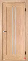 """Деревянные двери покрытые экошпоном  Модель """"Вертикаль"""""""