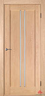 """Дерев'яні двері покриті екошпоном Модель """"Вертикаль"""""""