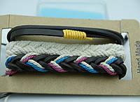 Мужские фенечки, браслеты оптом из фенечек, комплекты мужских многорядных браслетов 188