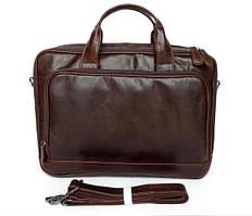 Сумка для ноутбука JASPER&MAINE 7005Q коричневая