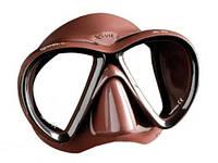 Маска для подводной охоты Mares X-VU; коричневая марес