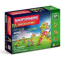 Магнитный конструктор Magformers Неоновые цвета, 60 элементов