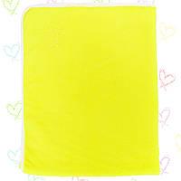Детские одеяла в роддом для девочек и мальчиков.3108KAY+GERDA,теплы.Махра нейтральных расцветок 90x120см.