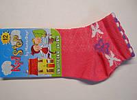 Детские носки в сетку для девочек кораллового цвета, фото 1