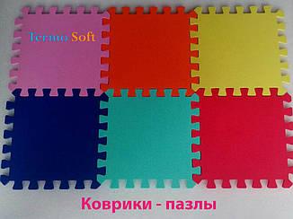 Коврик-пазл (мягкий пол) для детских комнат и спортивных залов, (EVA) 45х45х1см