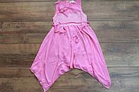 Шифоновое платье для девочек 4- 6 лет