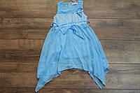 Шифоновое платье для девочек. 6- лет