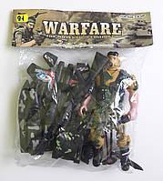 Игровой набор Солдат с оружием Warfare