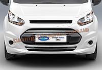 Накладки на передний бампер Omsa на Ford Connect 2014