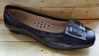 Кожаные детские туфли для девочек размер 37