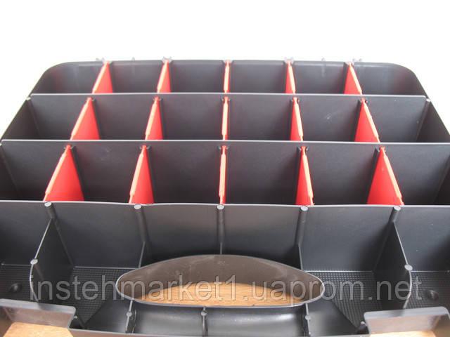 Ящик органайзер Haisser Domino 32 с регулируемыми секциями 22 отделения (90002) (325х260х65 мм) в интернет-магазине