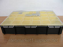 Ящик органайзер Сталь 1-1654 с ячейками (300х255х54 мм), фото 3