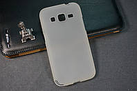 Чехол бампер силиконовый Samsung Galaxy G360 G361 Core Prime Duos цвет белый