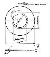 Фрикционный диск 1К62.02.205 (внутренний)