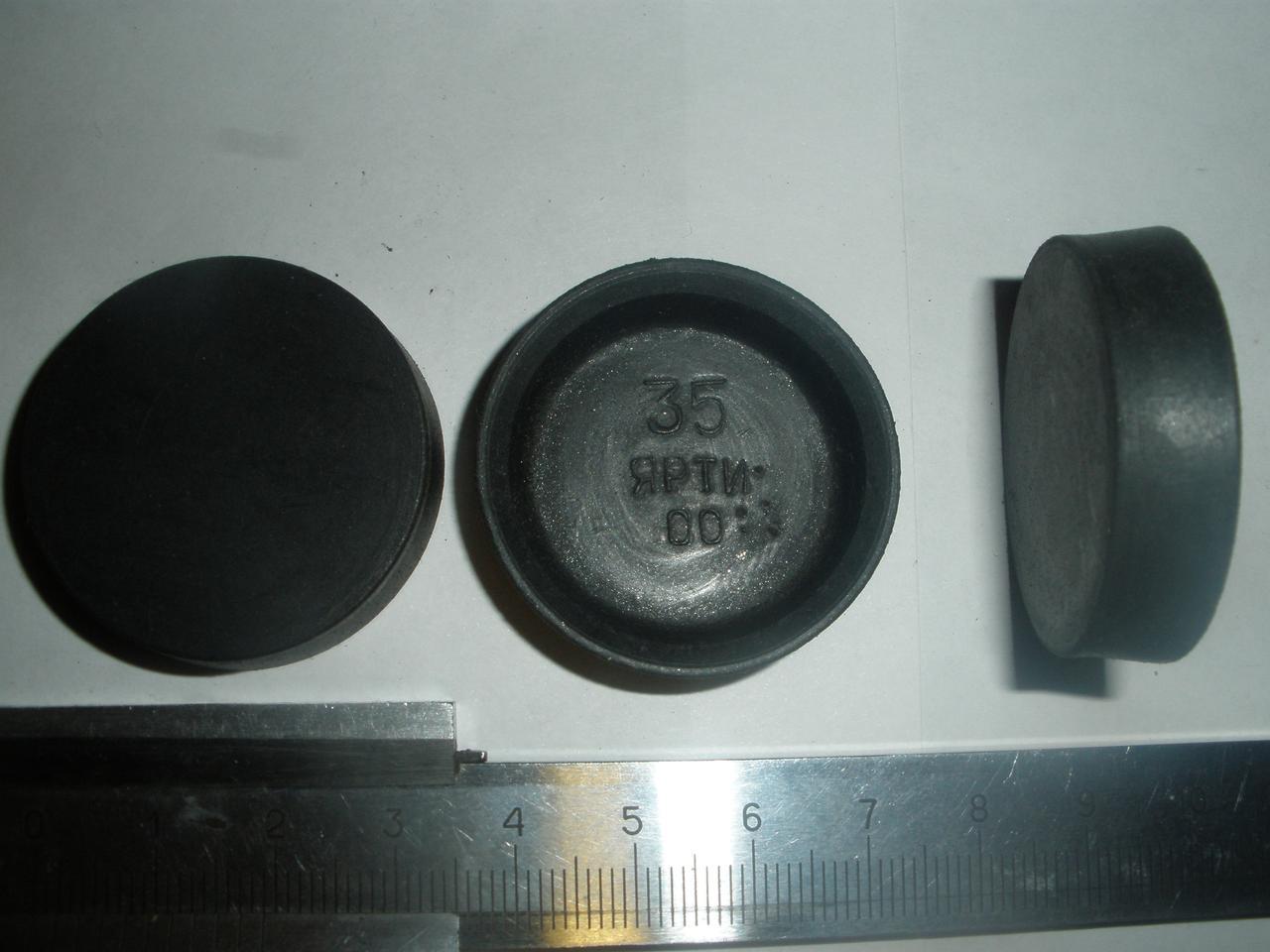 Манжета рабочего цилиндра тормозов ГАЗ 66 (51-3501051, Д=35 мм, пр-во ЯРТИ)