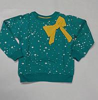 Джемпер звезды бирюзовый 1055