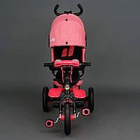 Велосипед трехколесный розовый Best Trike