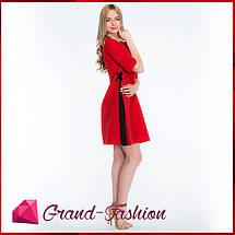 """ПЛАТЬЕ """"Granta"""" - цвет красный, фото 2"""