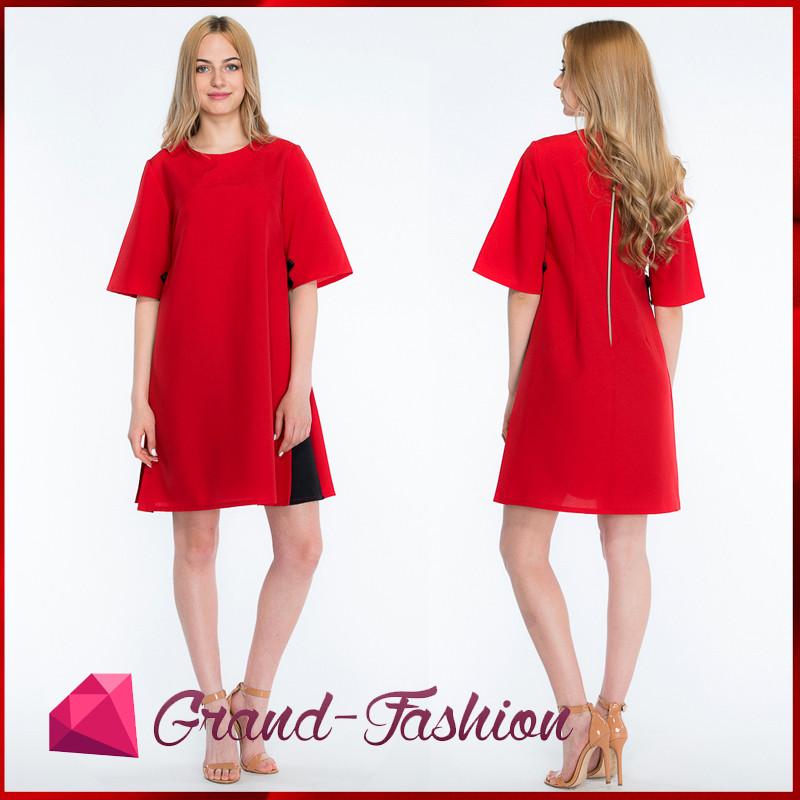 """ПЛАТЬЕ """"Granta"""" - цвет красный"""