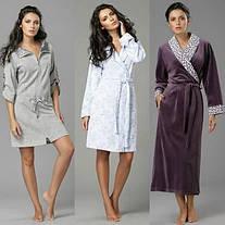 Виды женских халатов