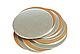 Подложка кондитерская 32 см золото-серебро двухслойная (упаковка 5 штук), фото 2